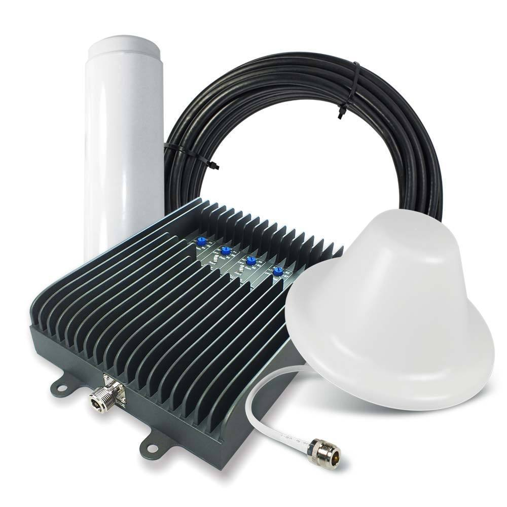 SureCall Fusion5s Home Cell Phone Signal Booster w/ Omni and Dome Antennas