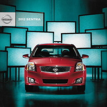 2012 Nissan SENTRA sales brochure catalog US 12 SR SL SE-R Spec V - $7.00