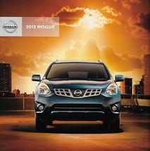 2012 Nissan ROGUE sales brochure catalog US 12 S SV SL - $6.00