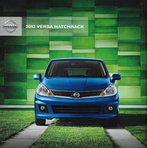 2012 Nissan Versa Hatchback Brochure Catalog Us 12 1.8 S Sl - $6.00