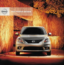 2012 Nissan VERSA SEDAN brochure catalog US 12 1.6 S SL - $7.00