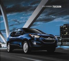 2012 Hyundai TUCSON sales brochure catalog US 12 GLS Limited - $6.00
