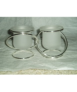 PartyLite Silver Plated Gemini Candleholder Party Lite - $7.99