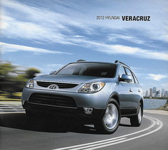 2012 Hyundai VERACRUZ sales brochure catalog US 12 GLS Limited - $6.00