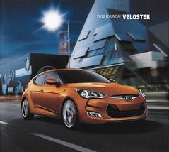 2012 Hyundai VELOSTER sales brochure catalog US 12 - $8.00