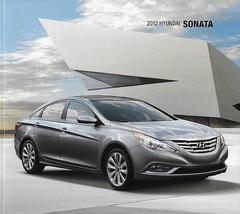 2012 Hyundai SONATA brochure catalog US 12 GLS SE Limited HYBRID - $6.00