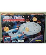 Star Trek Starship USS Enterprise NCC-1701D Space Talk Series - $62.71
