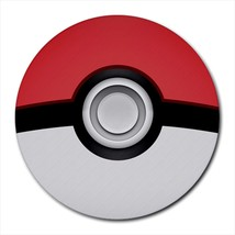 pokeball Round Mousepad - €6,96 EUR