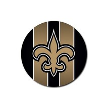 New Orleans Saints Rubber Round Coaster (4 pack) - $7.99