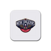New Orleans Pelicans NBA Team Logo  Rubber Squa... - $7.99