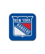 New York Rangers NHL National Hockey League Rubber Square Coaster (4 pack) - $7.99
