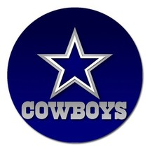 "Dallas Cowboys Magnet 5"" (Round) - $5.99"