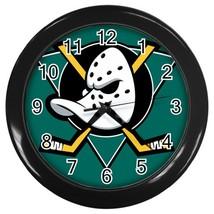 Anaheim Ducks NHL Hockey Team Wall Clock (Black) - $23.99