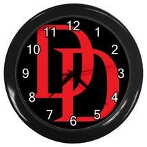 Daredevil Superhero Logo Emblem Wall Clock (Black) - $23.99