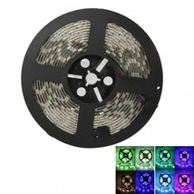 5-Meter Waterproof Flexible RGB 300 LED Light Strip Kit with 12V 5A Powe... - $22.50