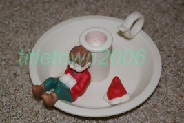 PartyLite Santa's Elf Taper Holder Party Lite - $9.00