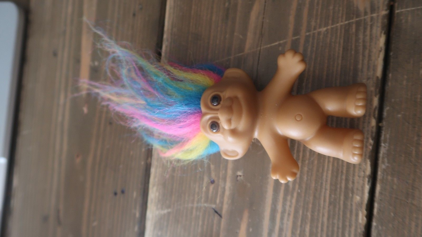 Primary image for Vintage Rainbow Hair Troll by RUSS