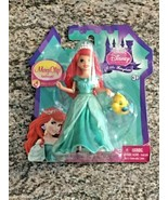 Disney Magic Clip Dolls Ariel and Flounder BRAND NEW IN PACKAGE - $11.90
