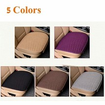 Linen Fabric Car Seat Cover Rear Cushion Breathable Protector Auto Mat Pad - $12.00+