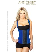 Ann Chery 2022 3 Hooks Fajas Latex Vest Waist Trainer Cincher - $44.99