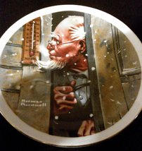 """Norman Rockwell 6.5"""" Plate - $17.28"""