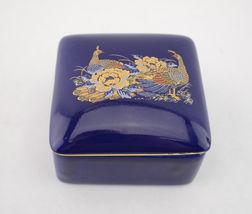 Vintage Nanco Porcelain Trinket Box Lid has Des... - $9.99