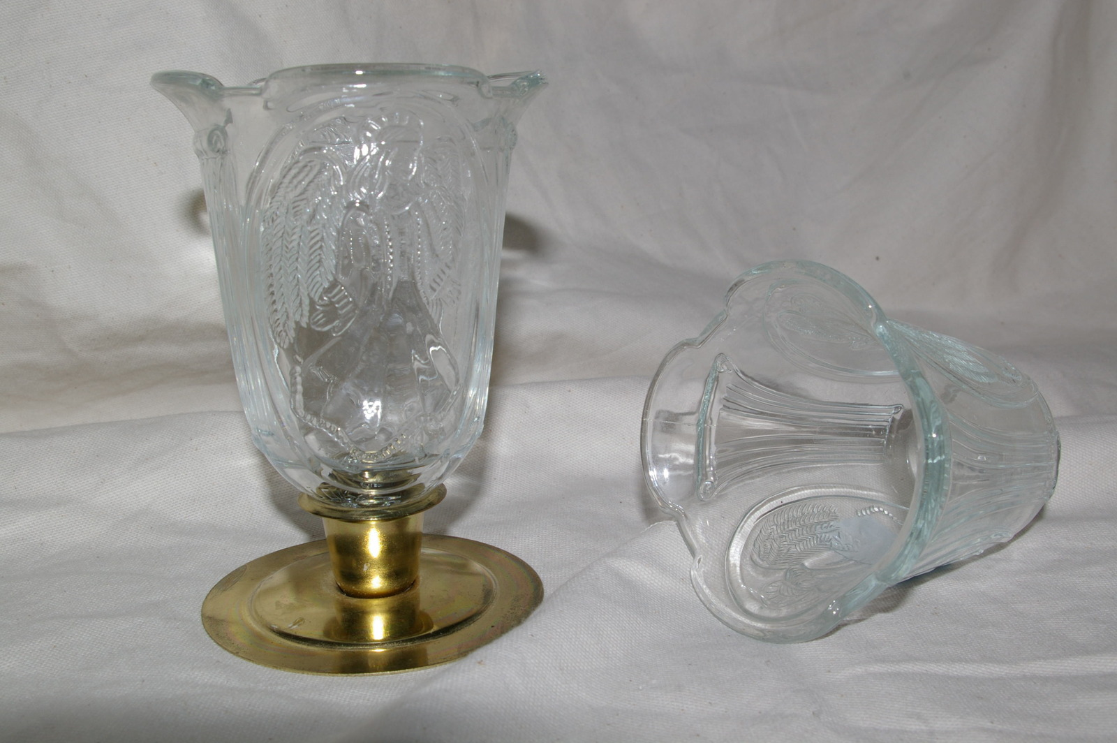 Home Interiors Angel Votive Cups RARE Homco