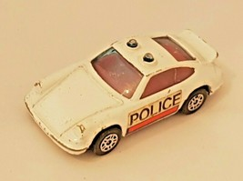 Corgi Junior Whizzwheels White Porsche Carrera Police Car - $6.26