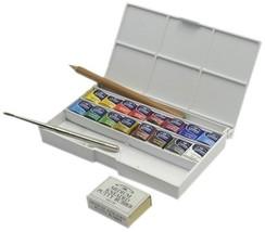 Winsor Newton Cotman Water Color Deluxe Sketchers Pocket Box h567 l366 w... - $51.92