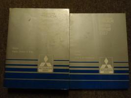 1987 Mitsubishi Truck Service Repair Shop Manual 2 Vol Set Oem Factory Book 87 - $69.29