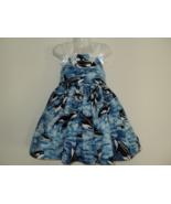 NEW Handmade Cute Sea Ocean Killer Whale Sun Dress Custom Size 12Month-1... - $59.98