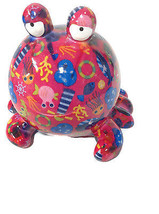 Pomme-pidon Pinky The Crab Pink Piggy Bank - $26.18