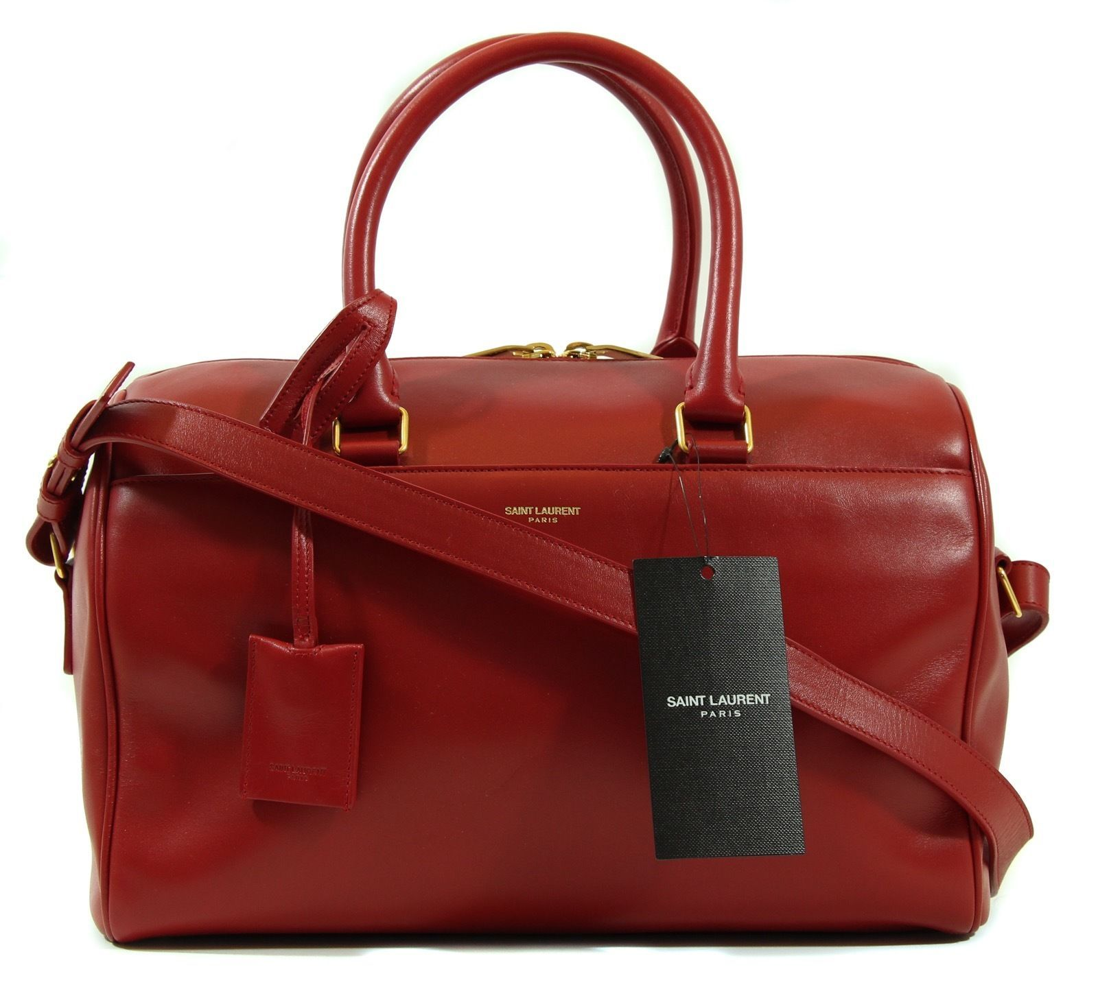 e69cc46844d NEW YSL 322049 Classic Duffle 6 Hour Leather and 19 similar items