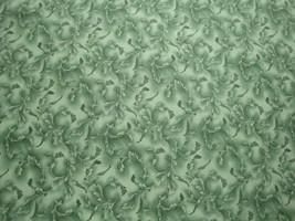 Green Tonal Scroll Tonal Blender-BTY-Choice Fabrics-Feathers - $6.95