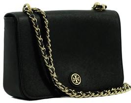 NWT TORY BURCH Robinson Adjustable Shoulder Bag, Black - $350.10