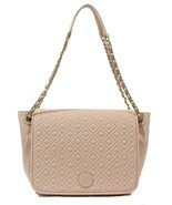 NWT TORY BURCH Marion Quilted Flap Leather Shou... - £349.52 GBP