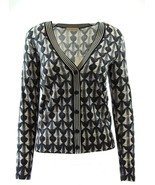 NWT $295 TORY BURCH Kensington Cardigan Sweater, XS - £99.37 GBP