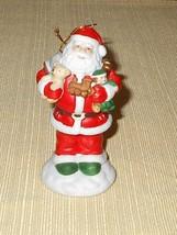 1982 Mann Santa Ornament - Milano Porcelain Scu... - $15.00