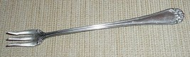 E.M. Weinberg & Co. Nickel Silver Cocktail Fork - $10.00