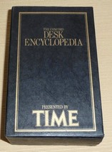 The Concord Desk Encyclopedia Presented by Time - 3 Volume Set with Slip... - $15.00