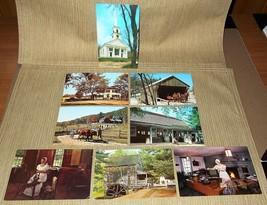 Lot of 8 Unposted Postcards from Old Sturbridge Village, MA - $18.00