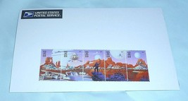 "1998 Strip of 5 ""Space Discovery"" 32c Stamps - New in USPS Package - $10.00"