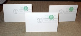 1977 9c Nathan Hale Prepaid Postal Card FDC w/Attached Prepaid Reply Car... - $15.00