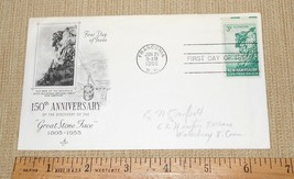 1955 3c New Hampshire #1068 - Great Stone Face Old Man of the Mountain A... - $8.00