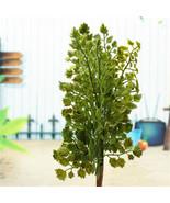Top Quality Gingko Biloba Fake Artificial Plant Leave Foliage Home Gar - $3.28