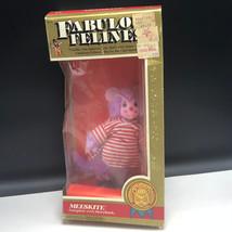 1983 FABULOUS FELINES MEGO ACTION FIGURE Phoenix toys cat plush Mieeskit... - $222.75