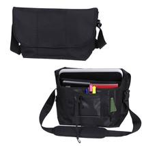 Black Elusion Low Profile Laptop Tablet Computer Travel Messenger Should... - $25.73