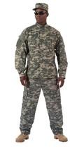 Mil Spec Army Airsoft Paintball Combat ACU Digital Camo Uniform Shirt Pa... - $36.62+