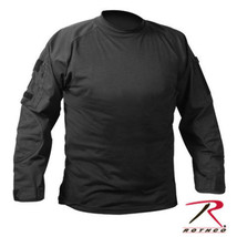 ROTHCO US ARMY USMC MILITARY STEALTH BLACK COMBAT HUNTING PAINTBALL L/S ... - $43.55+
