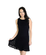 Size M Twenty Black LBD Drop Waist SOFT Modal O... - $48.81